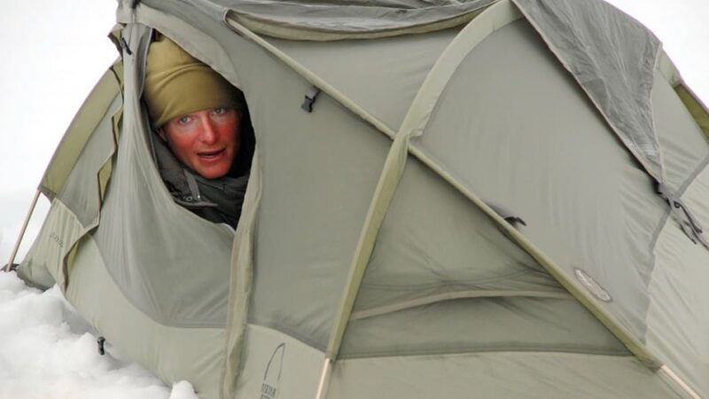 How to secure a tent in high winds