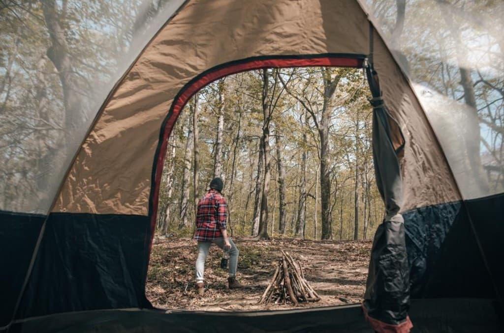 Tent zippers