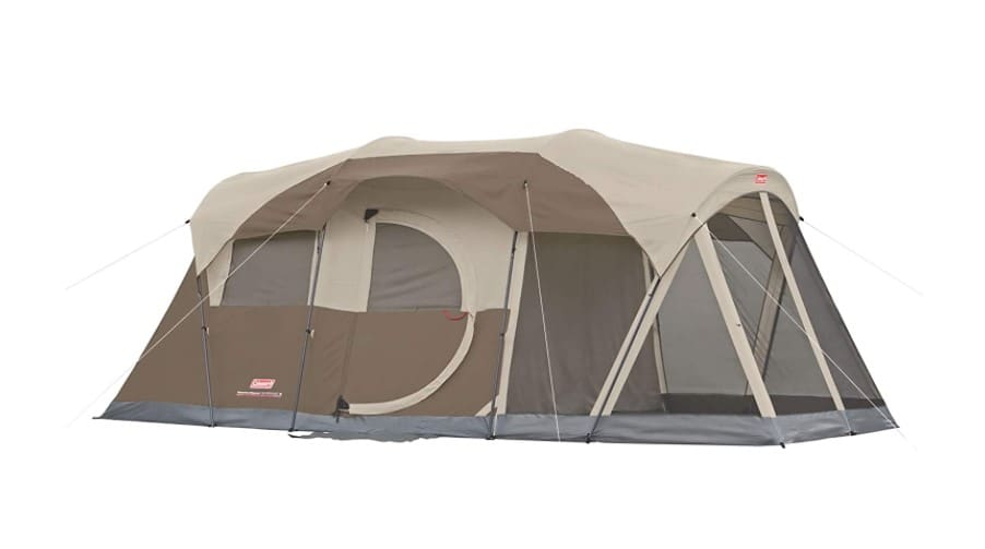 Coleman WeatherMaster 6-Person Tent with Screen Room