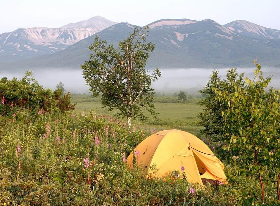 Tent material