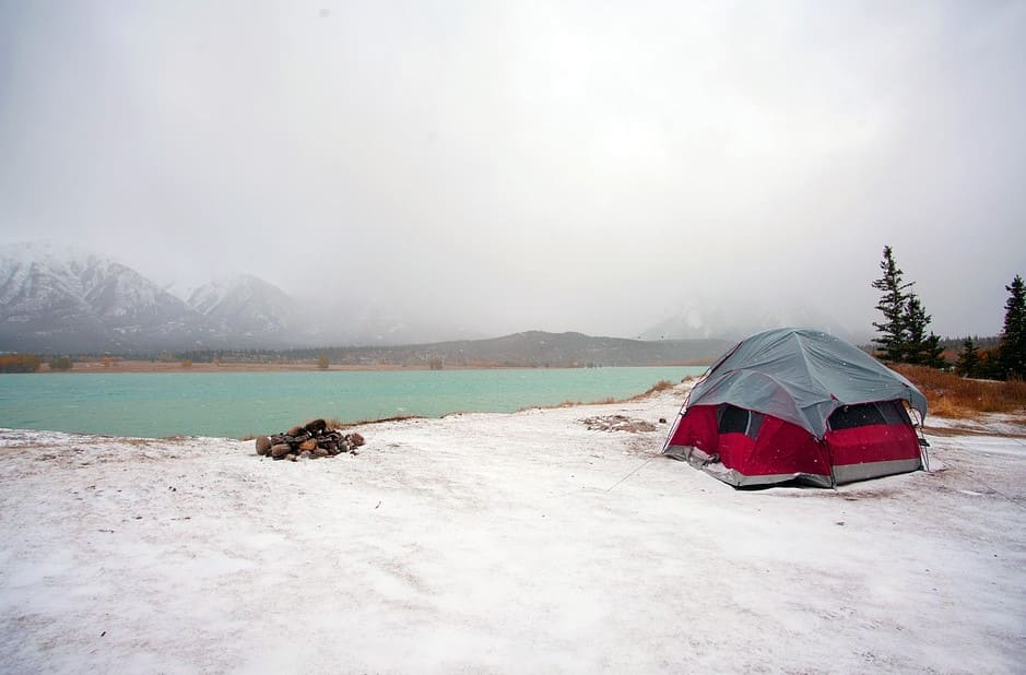 Tent for winter camping
