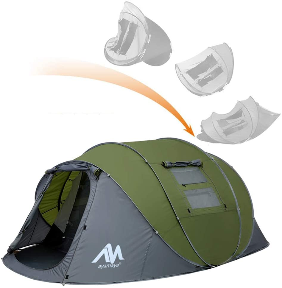 Ayamaya Pop Up Tent For 4-6 Person