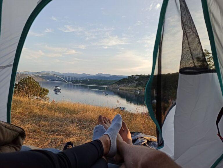 Camping in Krk, Croatia