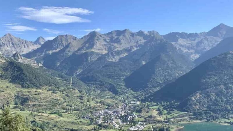 Camping in Pyrenees